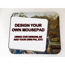 Design your own Personalized Custom Mousepad