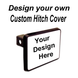 Personalized Custom Hitch Cover Set 2inch post